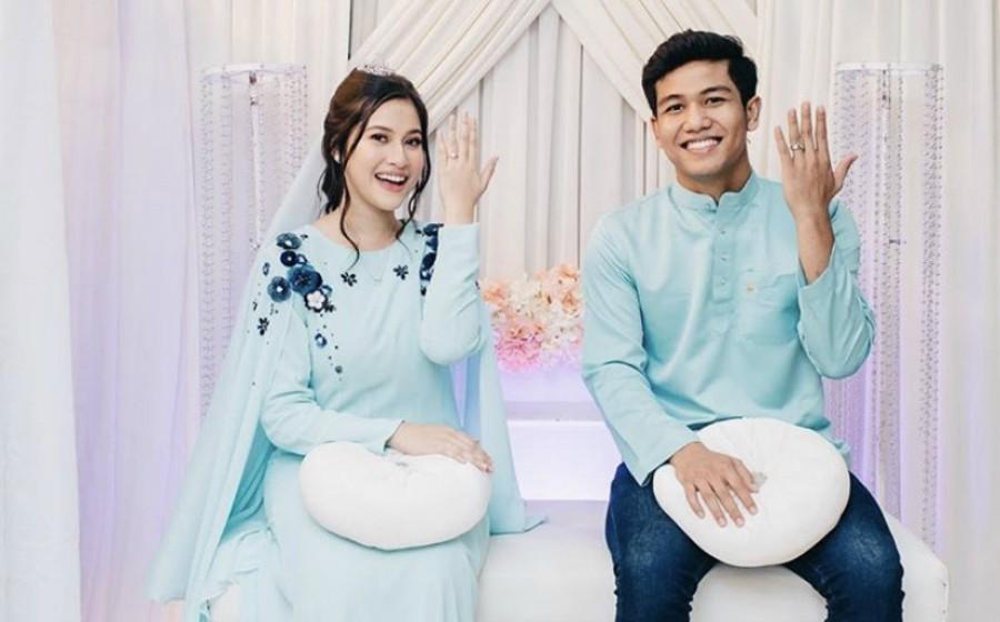 Eyra Hazali Bertunang Dengan Penjaga Gol Malaysia... Tahniah!