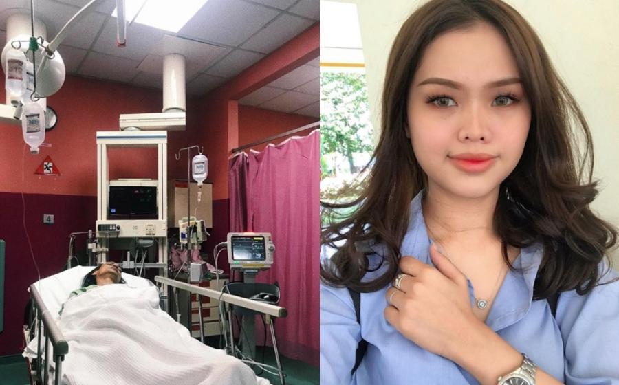 Bapa Mertua Aliff Aziz Masuk Hospital, Bella Astillah Minta Netizen Mendoakan Kesembuhan Bapanya