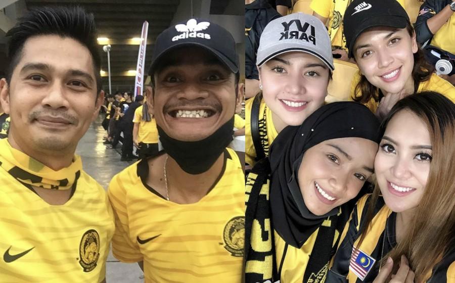 Datuk Fizz Fairuz, Lisa Surihani Antara Artis Layan Final Bola Sepak Malaysia-Vietnam