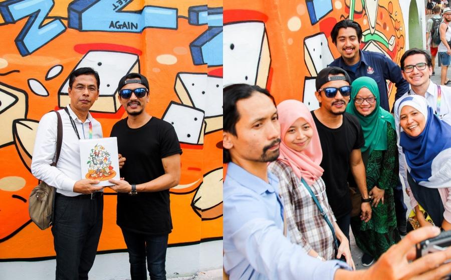 Sempena Lancar Album Terakhir, Faizal Tahir Ada Mural Sendiri Di KL!