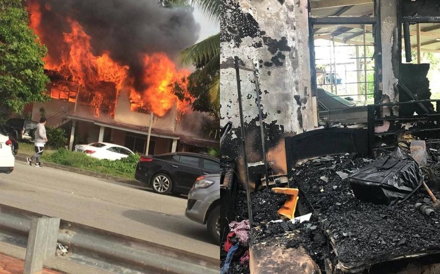 Mimi Rahzia Hanya Tahu Rumah Sendiri Terbakar Bila Orang Ramai Berkumpul Ambil Gambar, Rakam Video