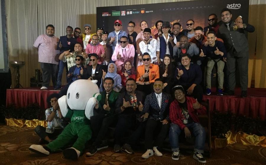 14 Peserta Berentap Rebut Gelaran Juara Maharaja Lawak Mega 2018