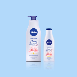 NIVEA Cherry Blossom & Jojoba Oil in Lotion
