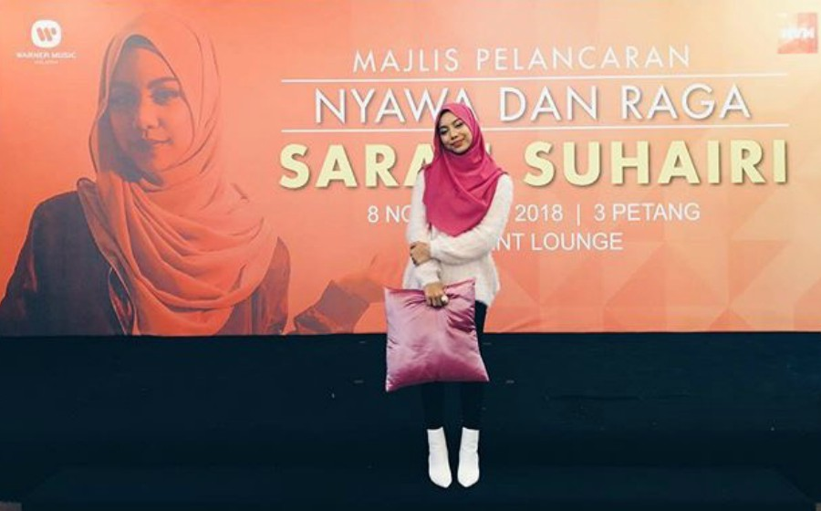 Sarah Suhairi Ingin Jadi Penyanyi Rap Bertudung Pertama Malaysia