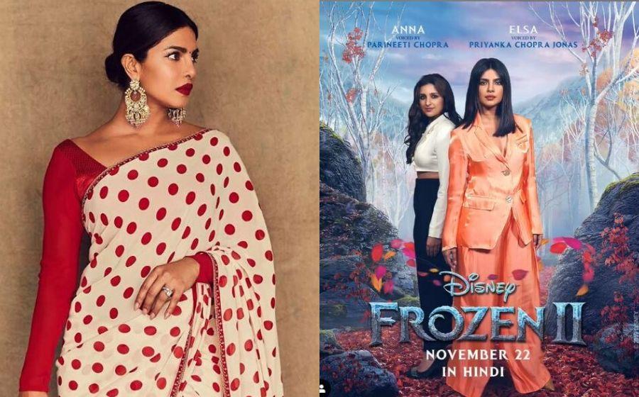 Priyanka Chopra Jadi Puteri Elsa Dalam Bahasa Hindi!