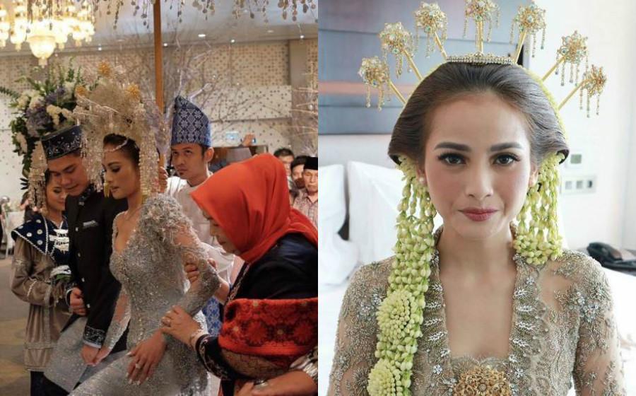 Acha Septriasa Anggun Di Majlis Pernikahan Mengikut Adat Jawa