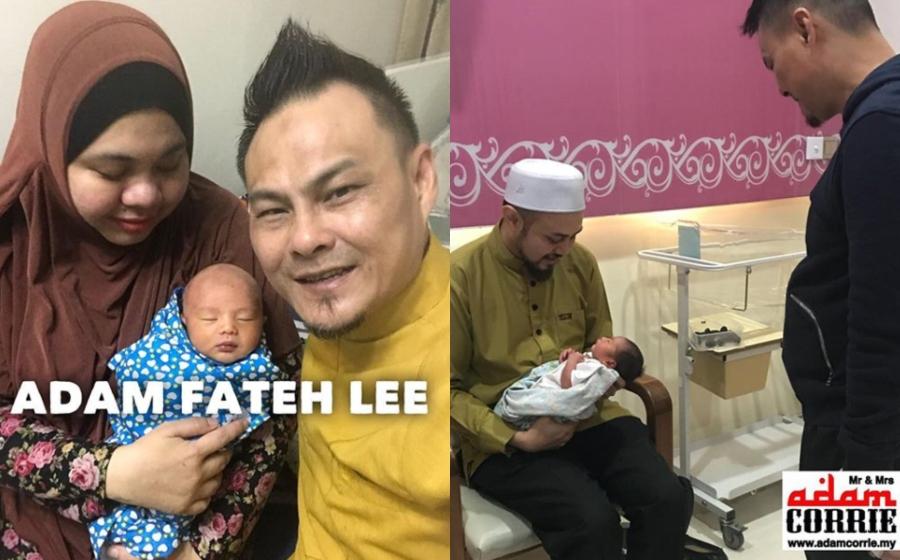 Adam Fateh Lee Nama Anak Sulung Adam Corrie