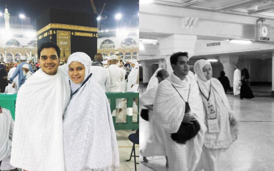 Alif Satar Tunai Umrah Bersama Isteri Yang Kini Hamil 7 Bulan
