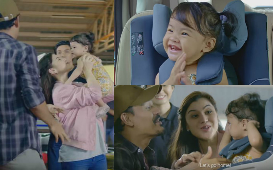 Anak Lisa Surihani, Yahaira Leanne Berlakon Dalam Iklan TV