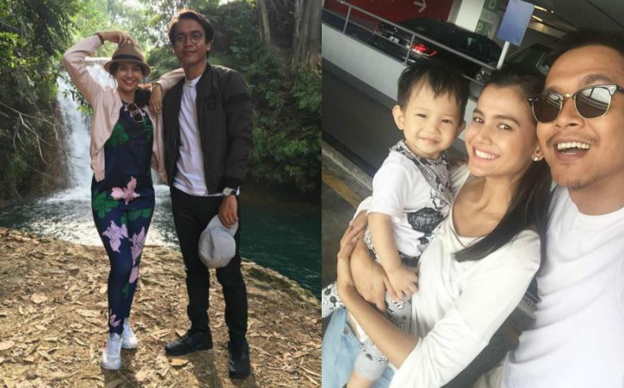 Ezzaty, Azwan Kombos Bergaduh Pilih Nama Anak
