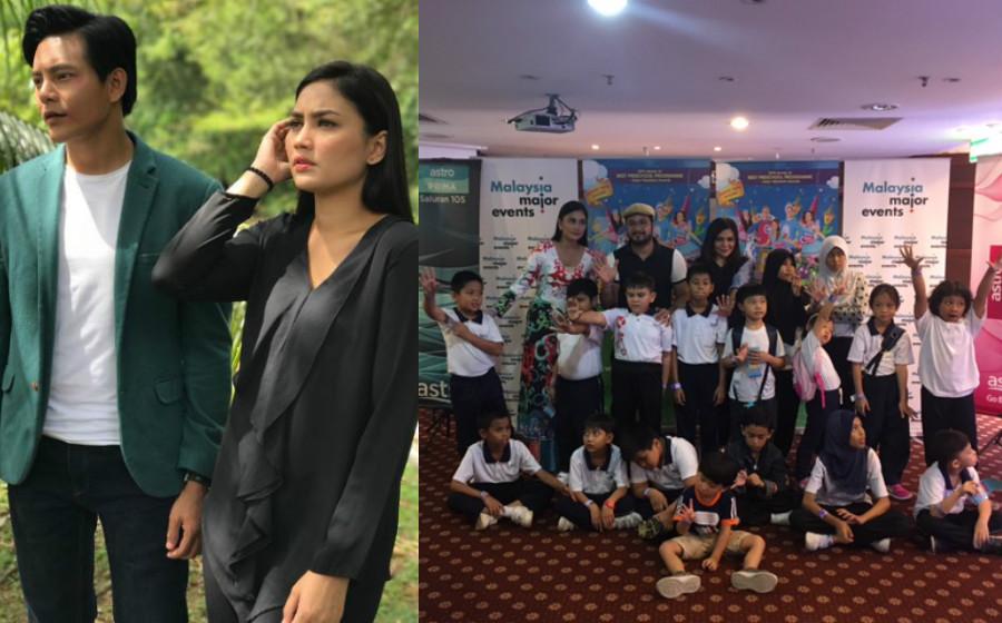 Fasha Sandha Tak Sangka Lara Aishah Diminati Kanak-Kanak Disleksia