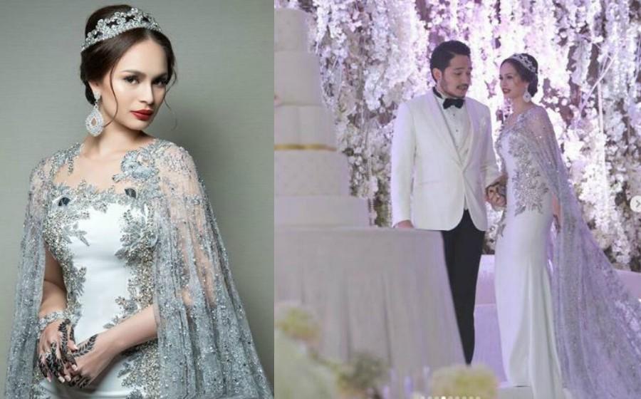 Izara Aishah Cantik Bak Bidadari Di Majlis Resepsi Artikel Gempak