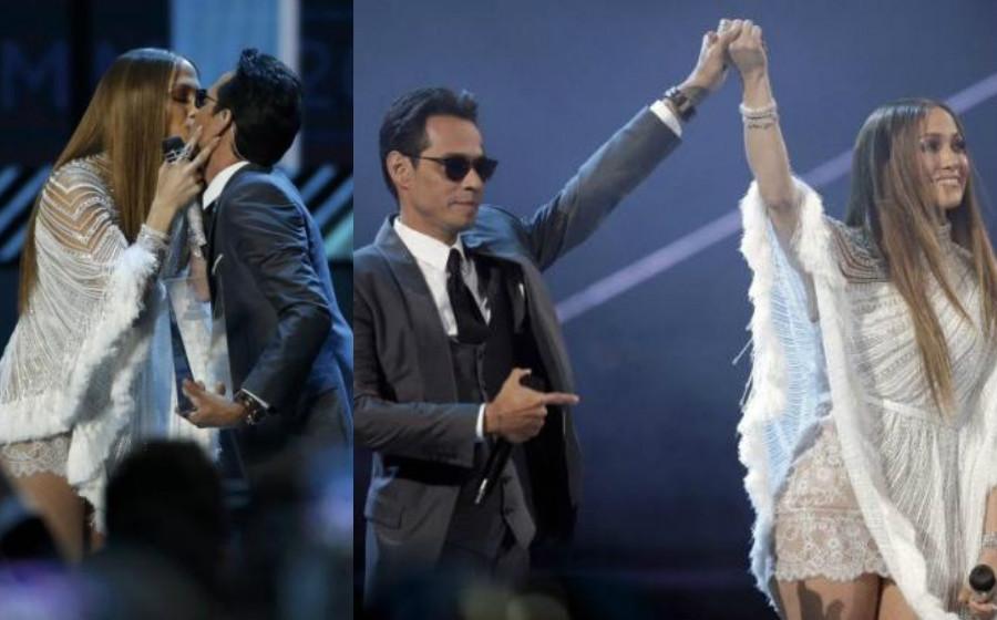Marc Anthony Cium Jlo Selepas Umum Bercerai