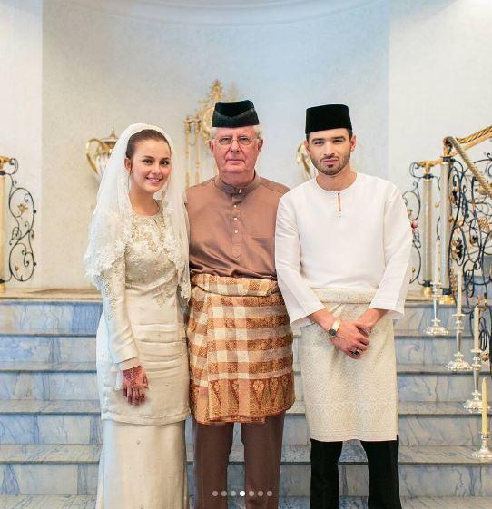Foto Sekitar Majlis Pernikahan Juliana Evans Tengku Shariffuddin Artikel Gempak