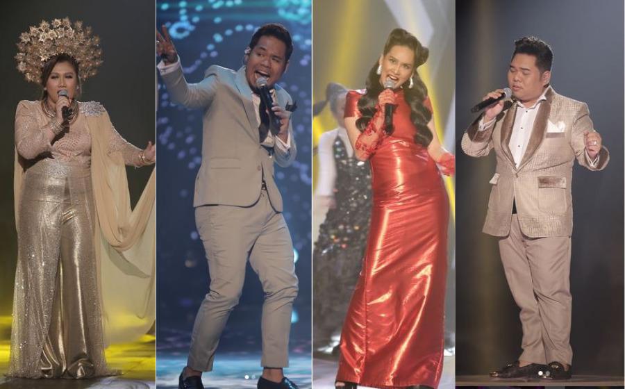 AF Megastar: Kedudukan Bintang & Recap Komen Juri Malam Konsert Pertama