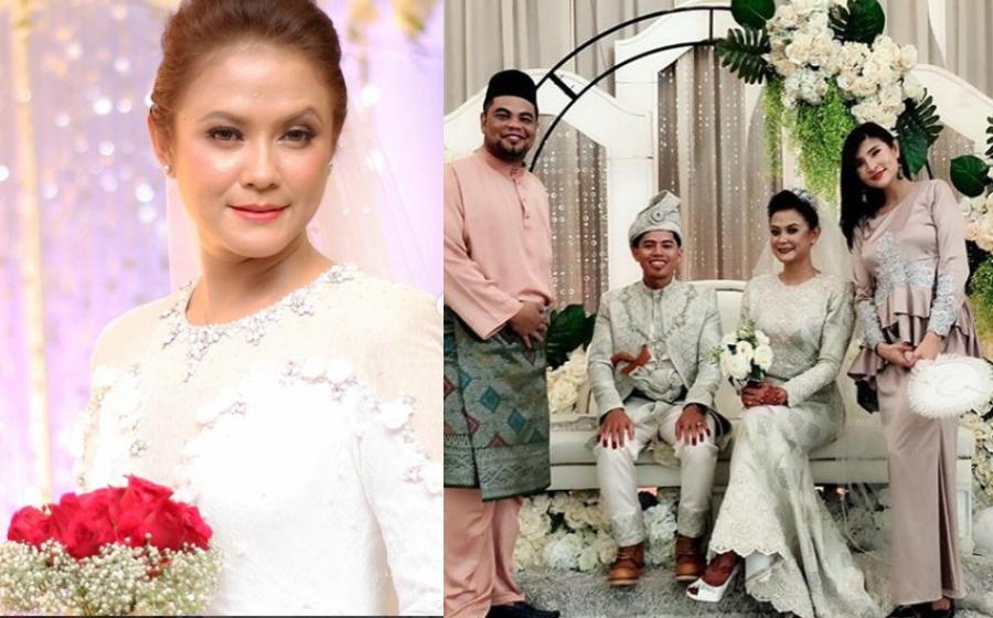 Nita Hamzah Kongsi Foto Majlis Resepsi, Peminat Ucap Selamat Pengantin Baru