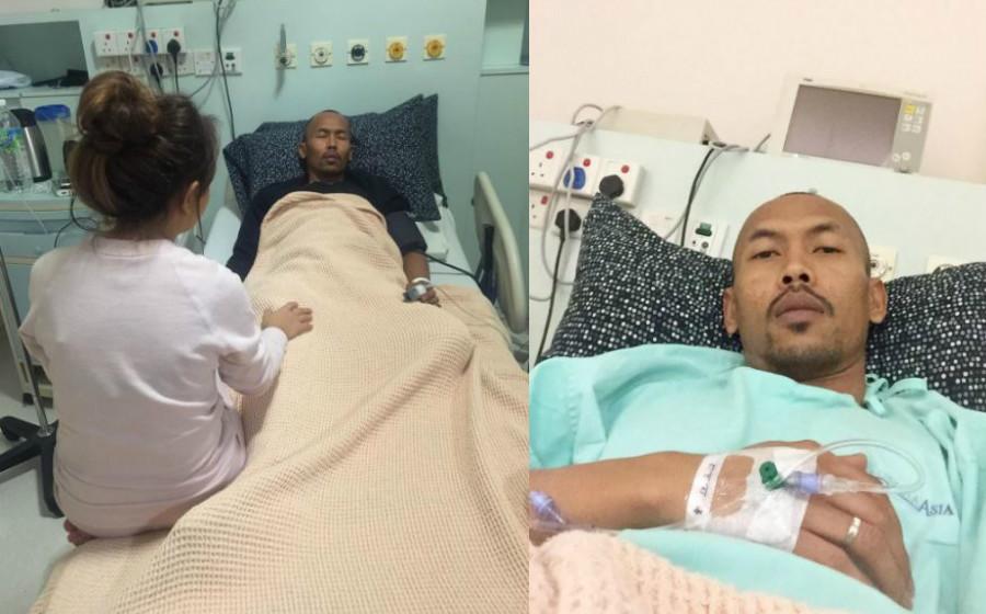 Siti Sarah Cemas Shuib Dimasukkan Ke ICU