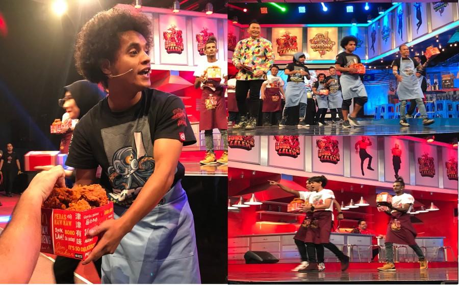 'Gelak Sampai Terguling', Penonton Super Spontan Xtravaganza Terima Ayam Goreng McD Percuma!!