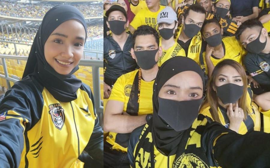 Dituduh Tonton Bola Sekadar 'Bangsa Final', Ini Jawapan WIN Ummi Nazeera!