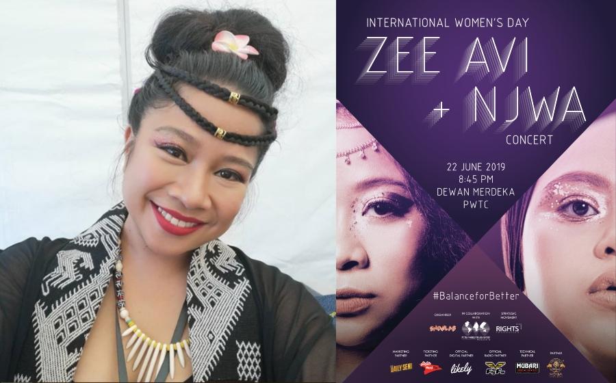 Zee Avi & Njwa Tangguh Konsert Demi…