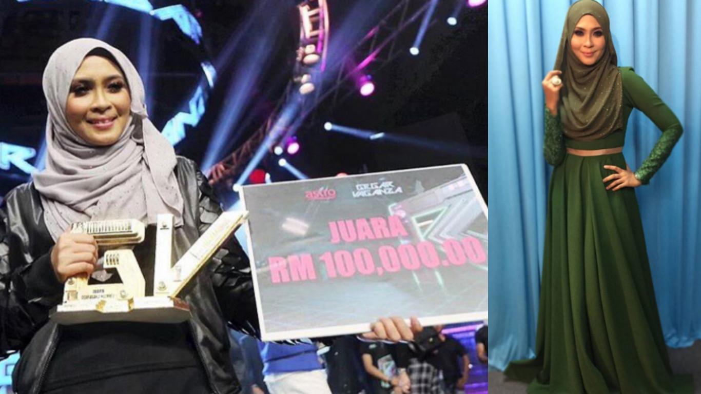 Gegar Vaganza Gv2 Siti Nordiana Juara Raih Rm105 000