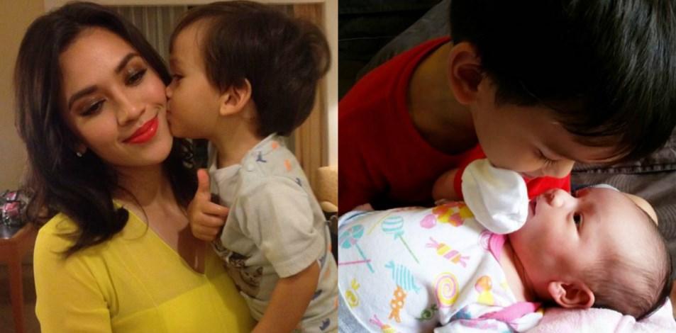 Gelagat Comel Anak Diana Danielle, Muhammad & Aurora Tawan Hati Peminat