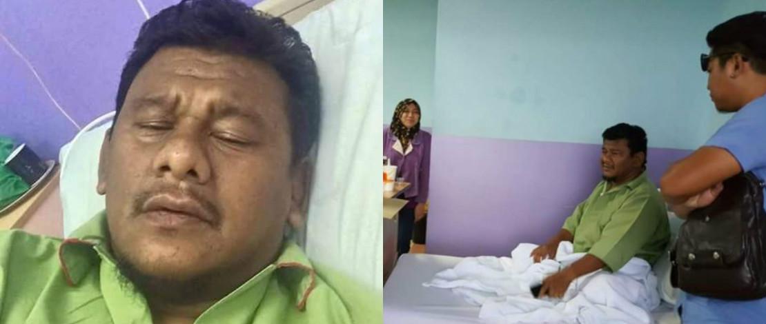 Dimasukkan Ke Hospital, Ebby Yus Makin Stabil