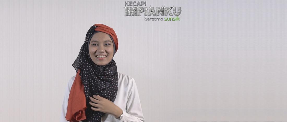 Effa Tampil Dengan 3 Jenis Fesyen Hijab Gaya Ala Seorang Pengarah
