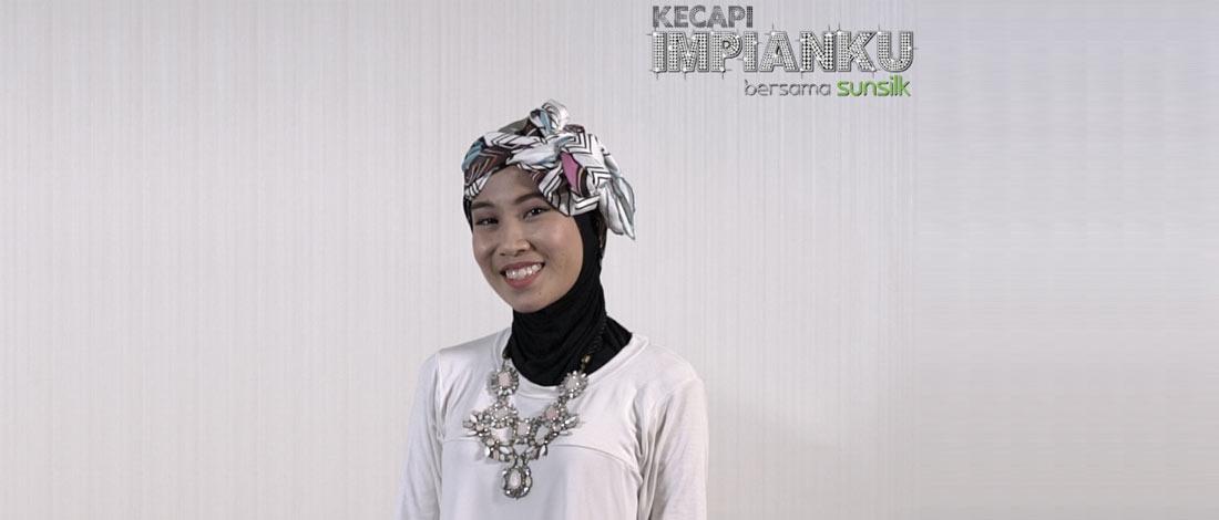 Nisa Tunjuk Tiga Stail Tutorial Hijab Jika Mahu Jadi Penyanyi