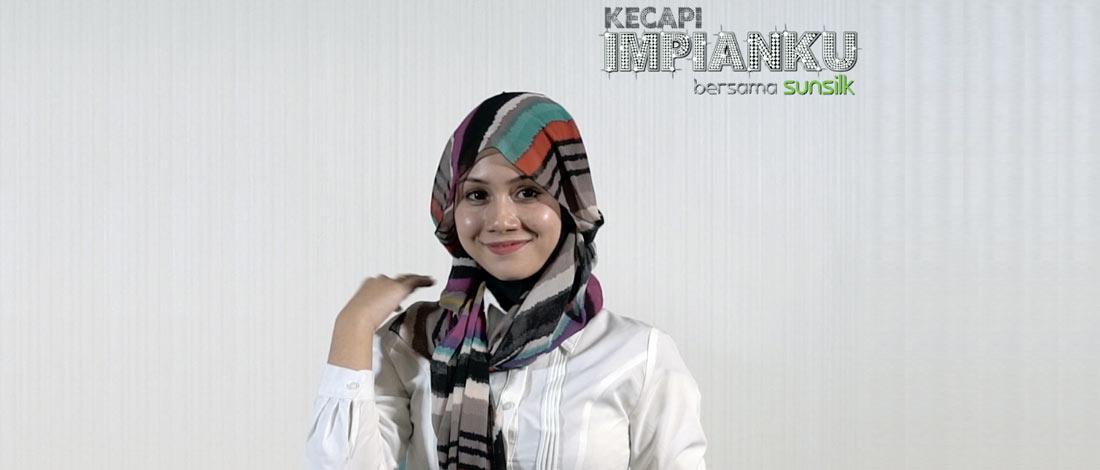 Nik Shamiera Pamer 3 Tutorial Gaya Hijab Ala Wartawan Penyiaran