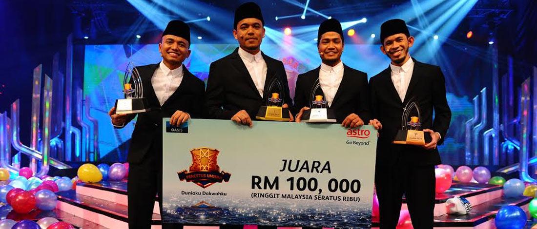 Gelaran Juara Pencetus Ummah 2015 Milik PU Syed