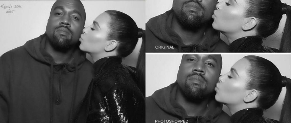Foto Cantik Menawan, Peminat Kantoikan Kim Kardashian