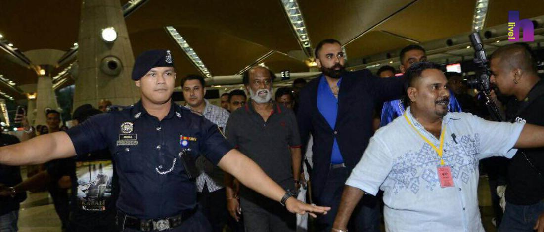 Rajinikanth Berada Di Malaysia Sebulan Untuk Filem Kabali