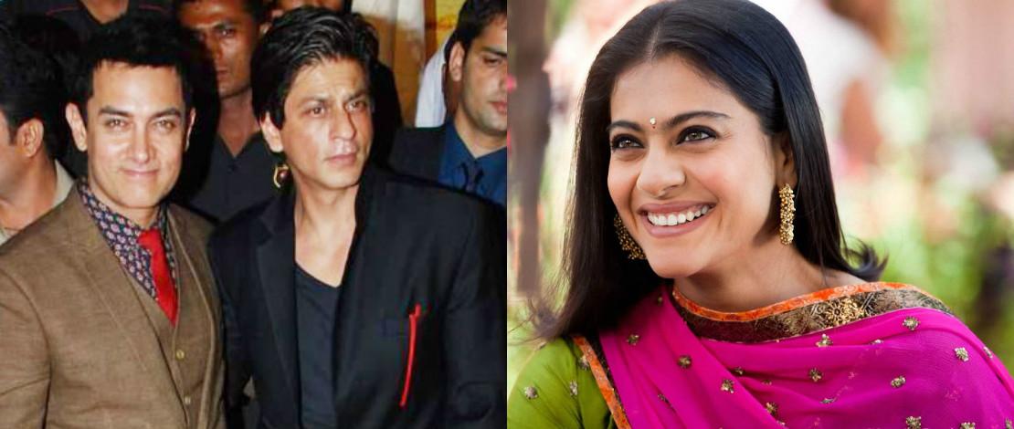 Shah Rukh Khan Hasut Aamir Khan Jangan Bekerjasama  Dengan Kajol