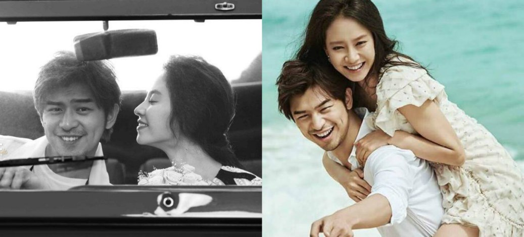 Anggunnya Song Ji Hyo, Chen Bolin Dalam Foto Pra-Perkahwinan Mereka