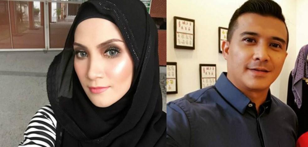 Aaron Aziz Beri Semangat Kepada Sherry Ibrahim