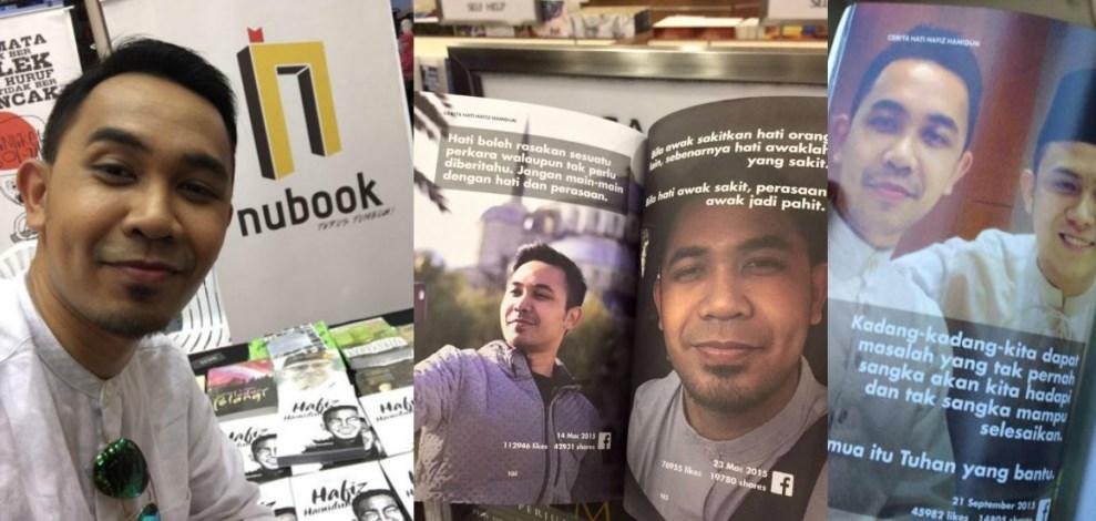 Hafiz Hamidun Dikritik Syok Sendiri, Terbit Buku Penuh Gambar Selfie