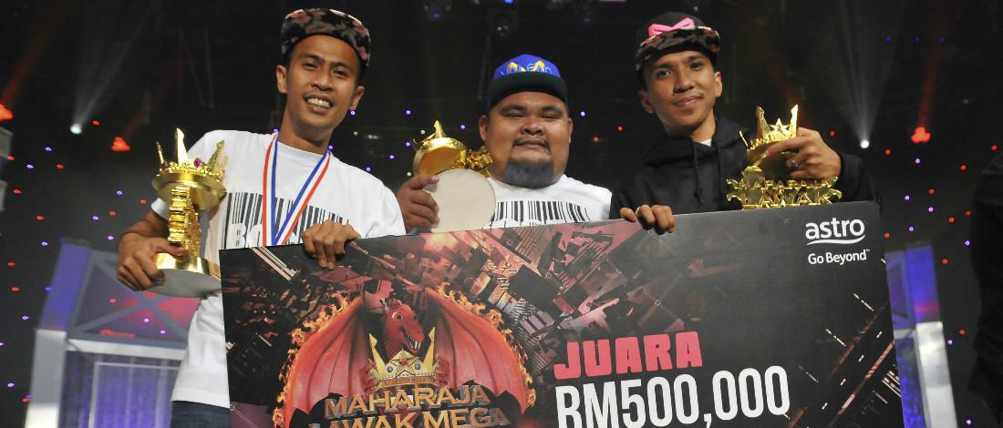 Bocey Juara MLM 2016, Bawa Pulang RM500,000