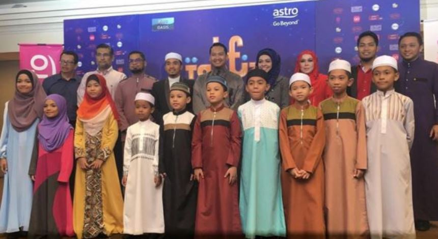 Tahfiz Muda, 10 Peserta Cilik Tonjol Bakat Hafaz Al-Quran