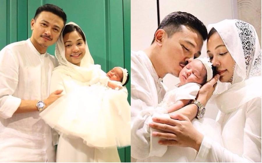 Jeanelle Nika Mandagie, Uniknya Nama Anak Jovian & Nina Ismail Sabri