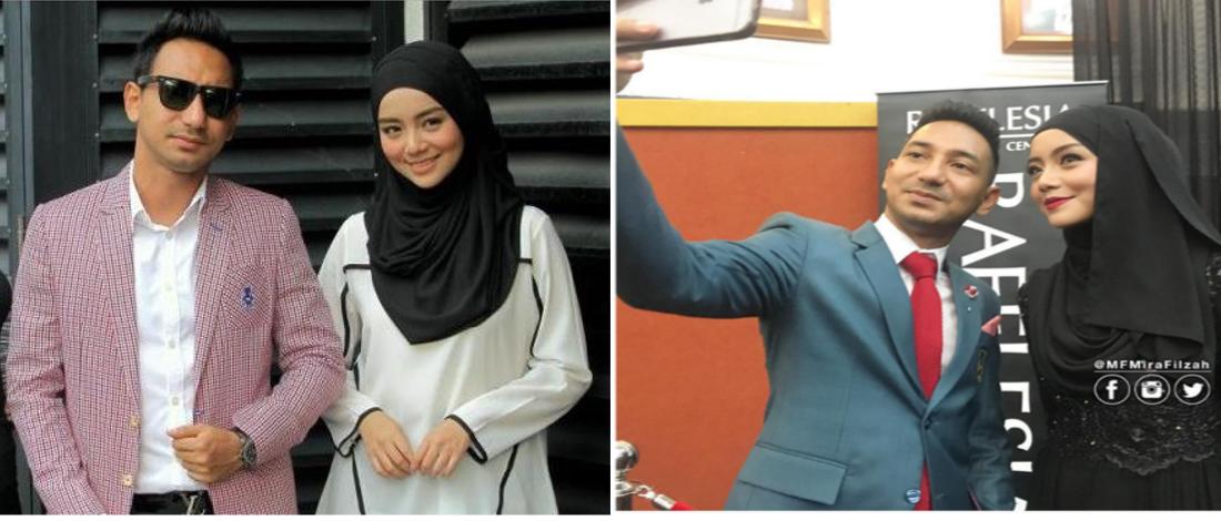 Zizan Razak Nafi Mira Filzah Pasangan Pengacara Di AF 2016