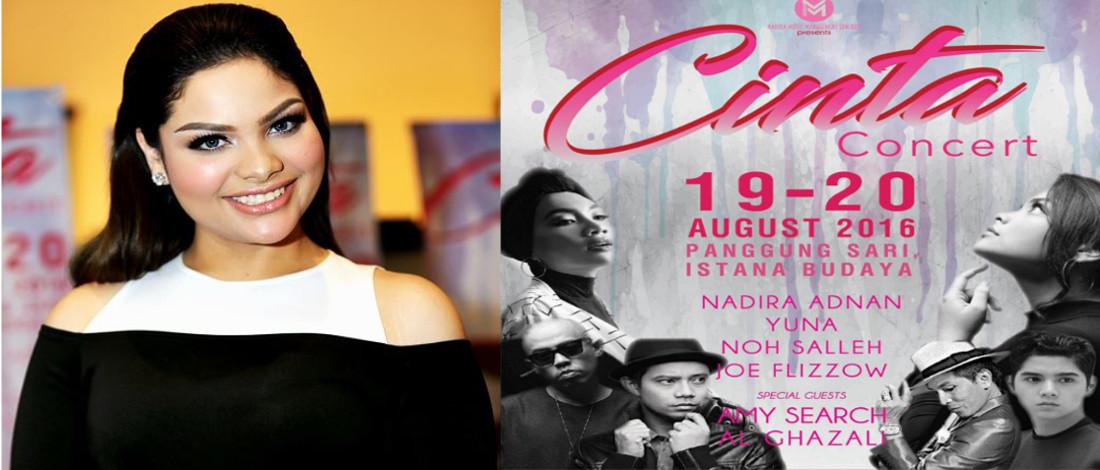 Berganding Dengan Nama Besar Dalam Konsert Cinta, Nadira Adnan Gementar
