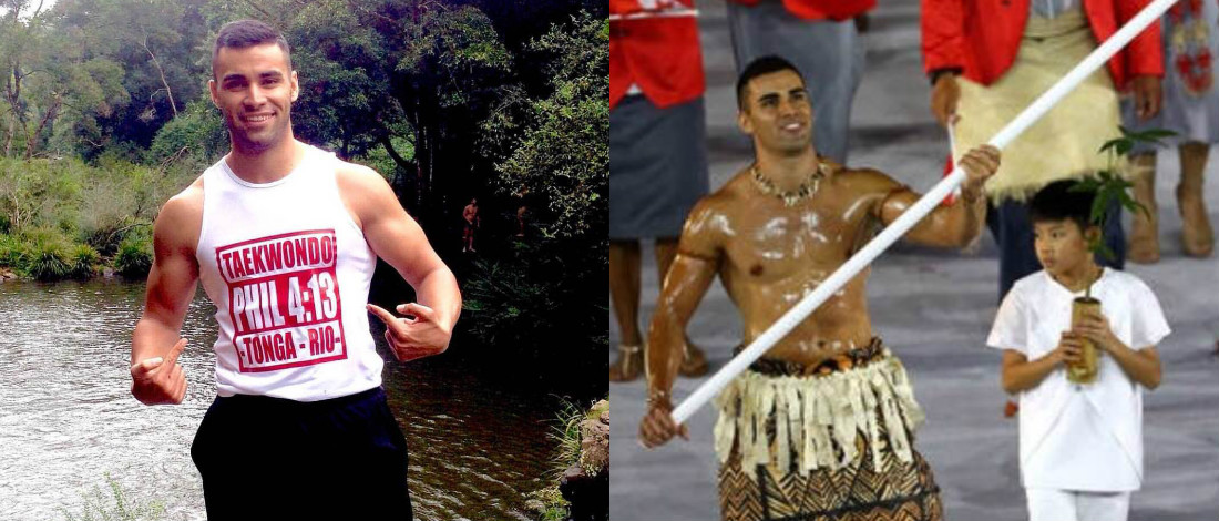 Atlet Tonga, Pita Nikolas Taufatofua Curi Tumpuan Dunia