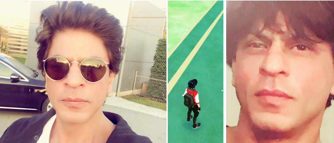 Shah Rukh Khan Geram Tak Dapat Tangkap Pokemon