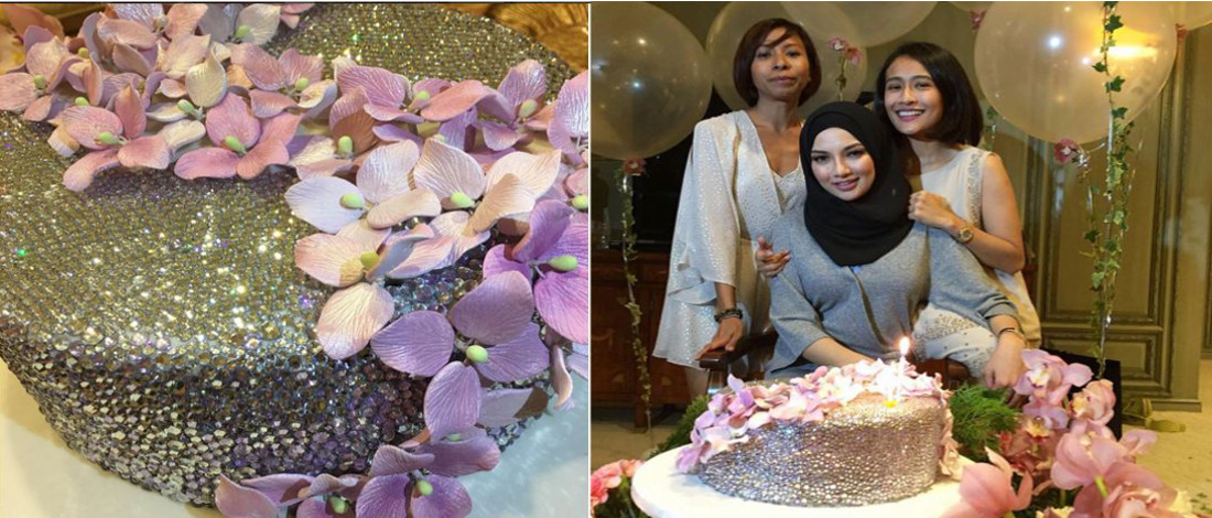 Kek Hari Lahir Ke-27 Neelofa Berharga RM6 Ribu