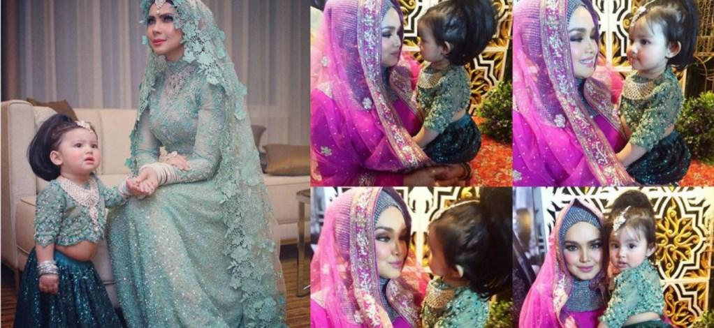 Bergaya Ala Bollywood, Aaisyah Dhia Rana Comel Macam Anak Patung