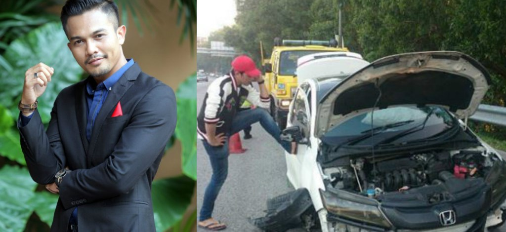 Tayar Kereta Pecah, Syahrul Ridzwan Kemalangan