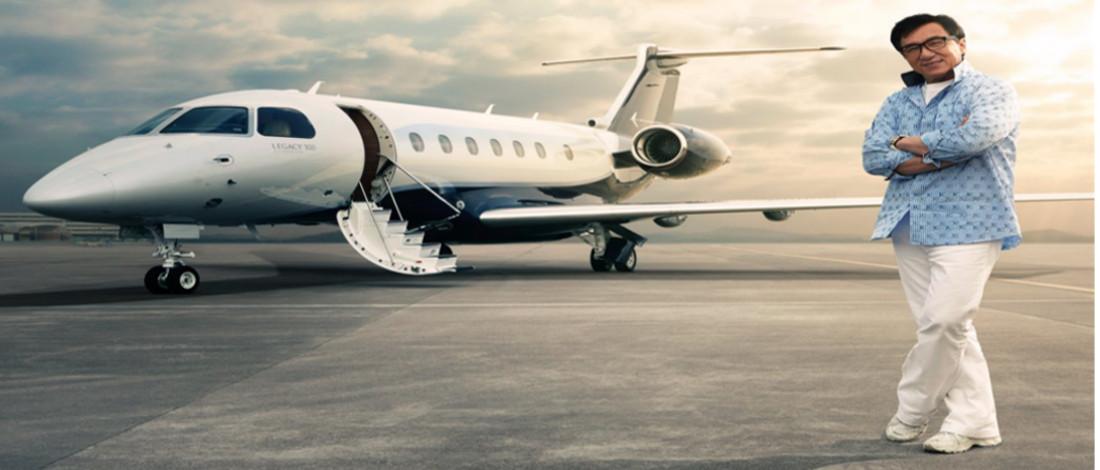 Jackie Chan Tambah Koleksi Jet Peribadi Berharga RM82 Juta