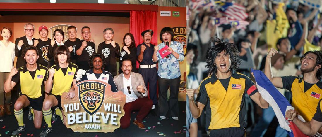 Terus Hangat Di Pawagam, Ola Bola Kutip RM14.5 Juta Dalam 29 Hari