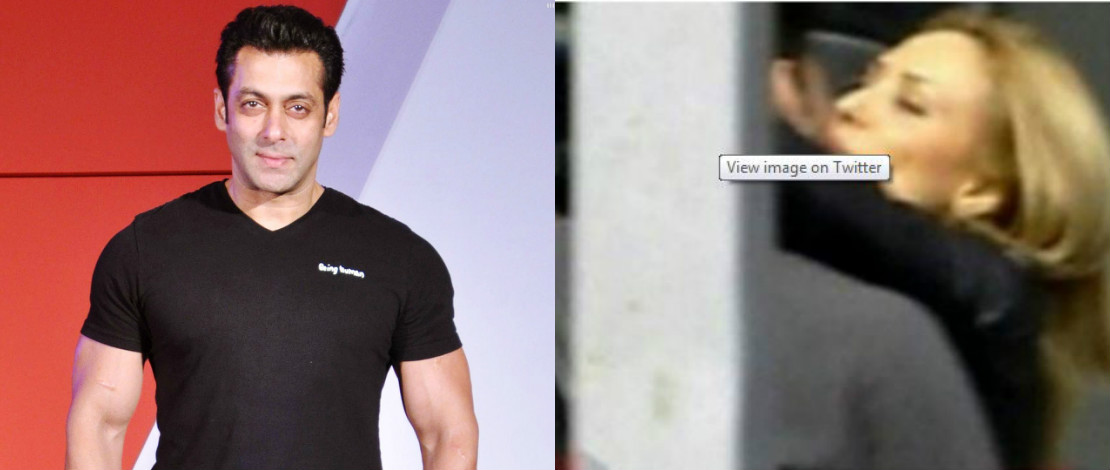 Foto Salman Khan Cium Kekasih Di Publik Jadi Viral